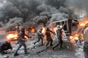 Disordini Kiev