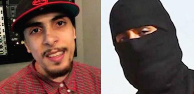 Un rapper britannico il cui padre è in attesa di giudizio a Manhattan per un paio di attentati alle ambasciate degli Stati Uniti è un sospetto di primo piano nella decapitazione del giornalista americano.