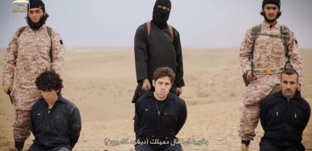 Oltre la censura, ISIS, i video delle decapitazioni di Henning e Kassig.