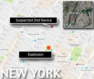 Usa, ordigno in cassonetto esplode a Manhattan3