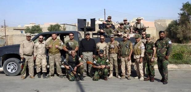 Dwekh Nawsha in Iraq, saluta i Templari dell'OSD CTM.