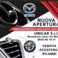 Alfa Romeo, Unicar, nuova apertura Monteforte Irpino.