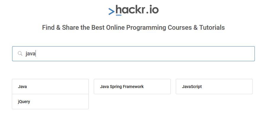 Hackr.io la web donde encontrarás recursos gratis para programar