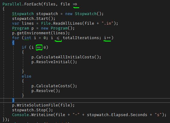 Un ejemplo de código utilizando la tipografía Fira Code