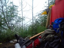 Mengupayakan tenda