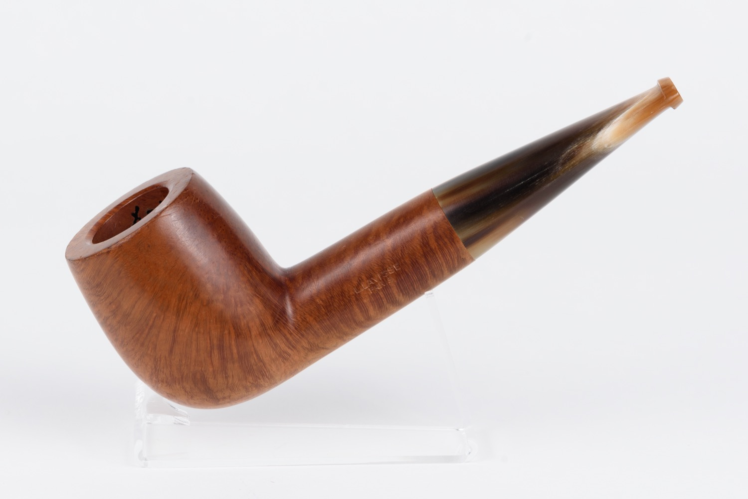 """Smoking pipe. L. Lavisse """"Special"""". Form """"Billiard"""" (According to classification of """"Alfred Dunhill Ltd""""). France, Paris, 1940s"""