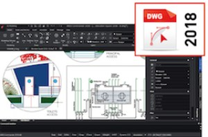 Read and modify DWG 2018 format