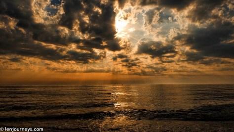 Sunset on the North Sea, Sylt