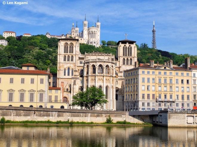 Vieux Lyon and Fourvière Hill