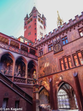 Courtyard of Basel Rathaus