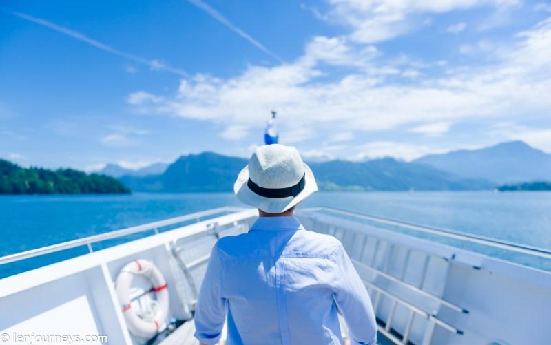 On board the MS Saphir