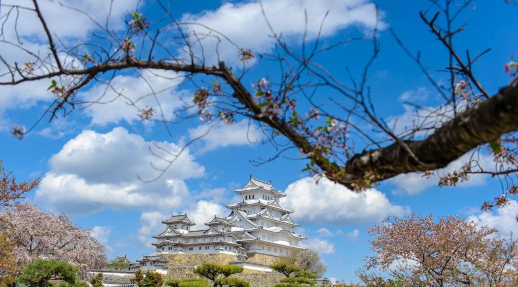 Himeji Castle in Spring