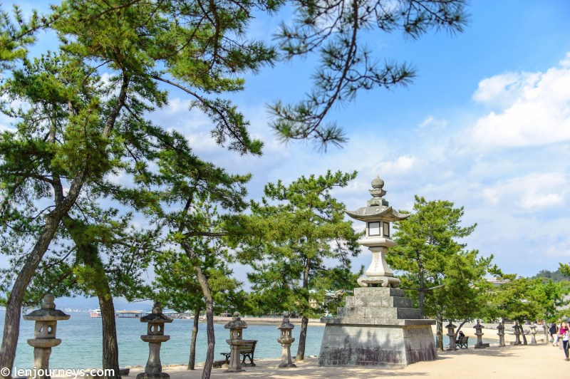 The beautiful island of Miyajima