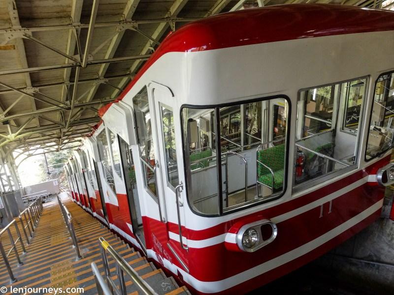 Cable car to Kōyasan