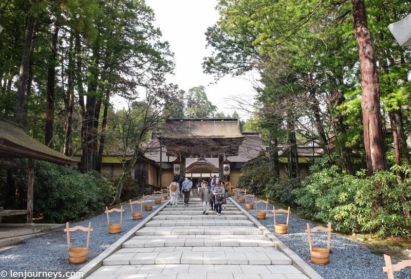 Entrance to Kongobuji Temple