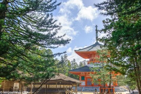 Daijo Garan temple complex - The spiritual heart of Kōyasan