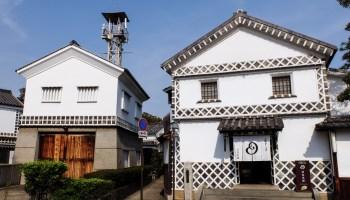 Traditional storehouses in Kurashiki
