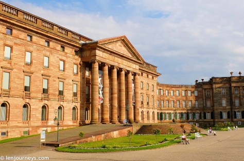 Wilhemshöhe Palace in Neoclassical style