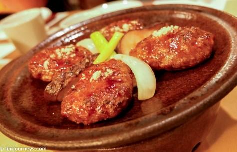 Tteok galbi - Grill short rib patties