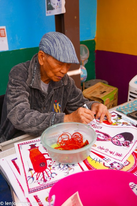 Mr. Huang Yung-Fu - Creator of the Rainbow Village
