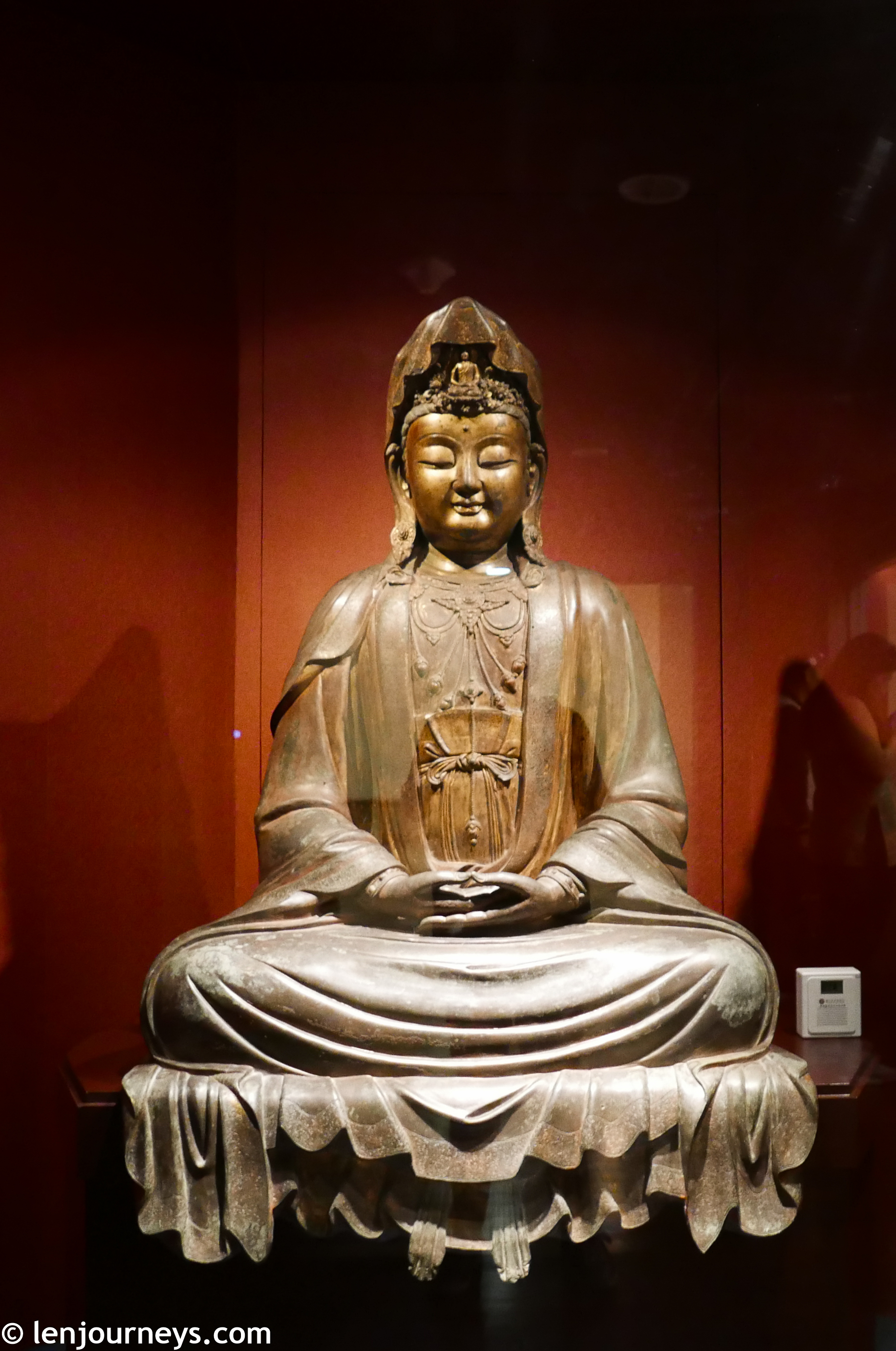 Guan-Yin statue in National Palace Museum