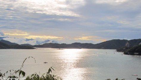 Sunset on Sun Moon Lake