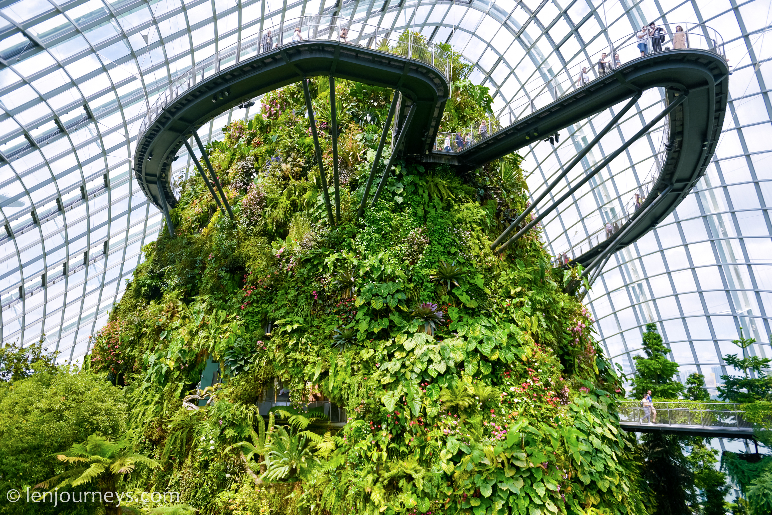 Cloud Mountain, Gardens by the Bay