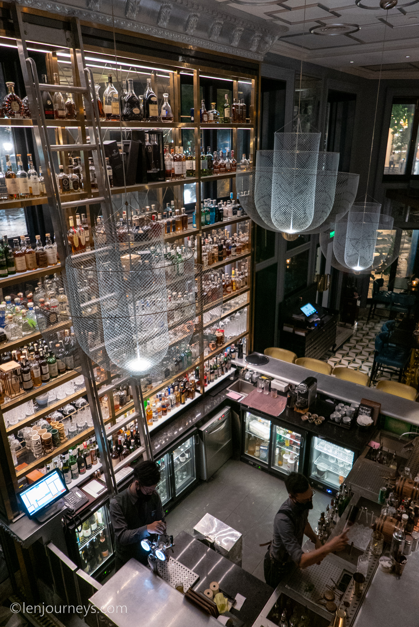 Spectacular whiskey collection