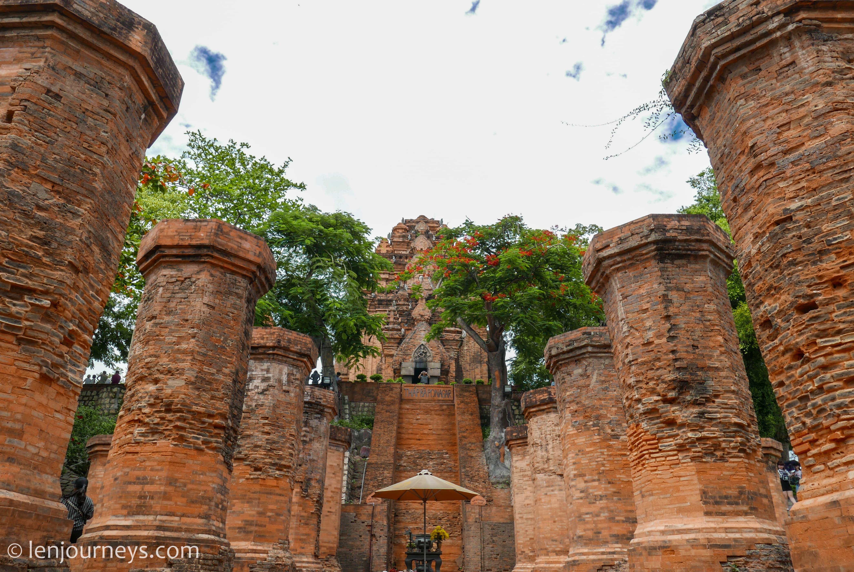 Entrance to Po Nagar Towers