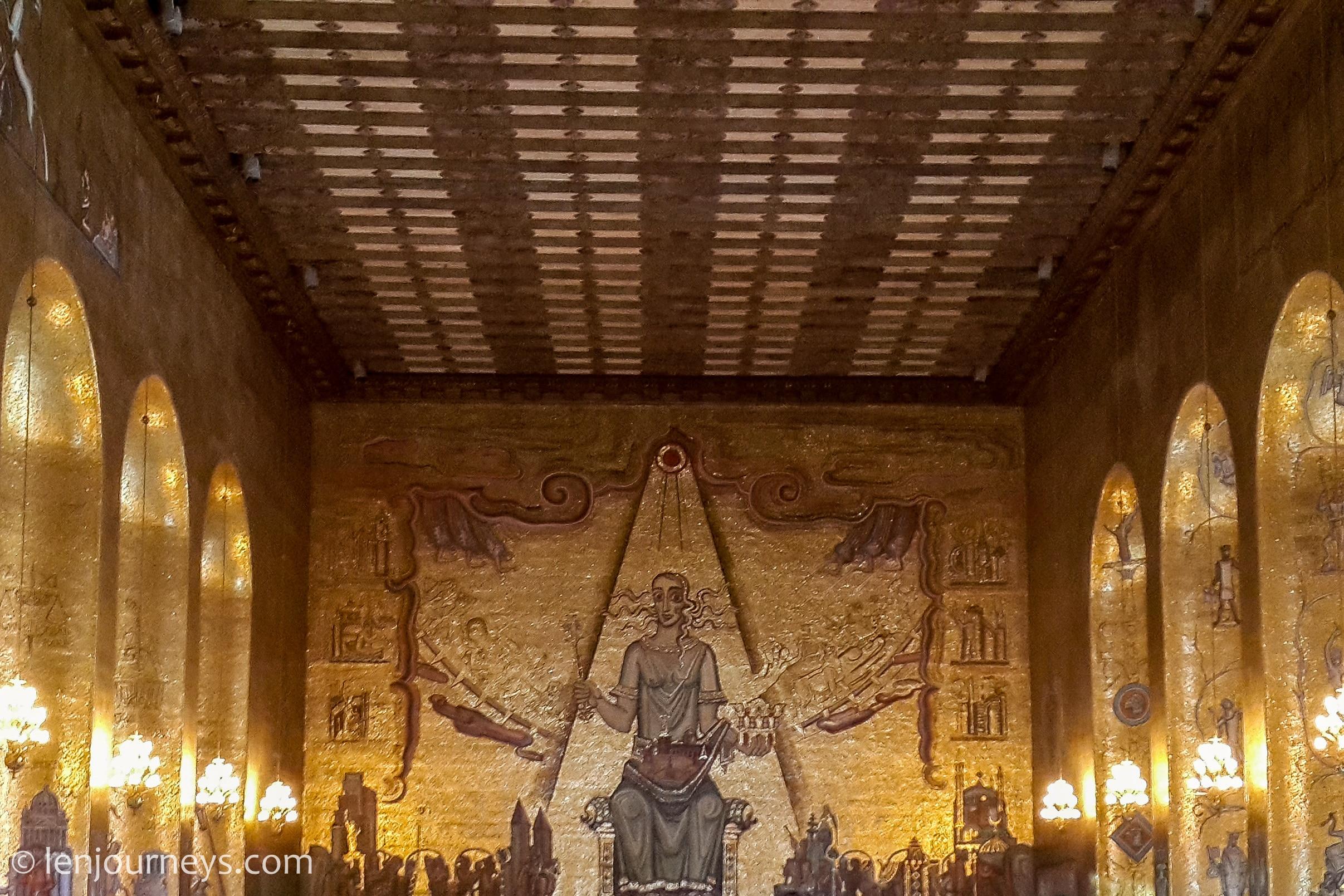 Golden Hall in Stockholm