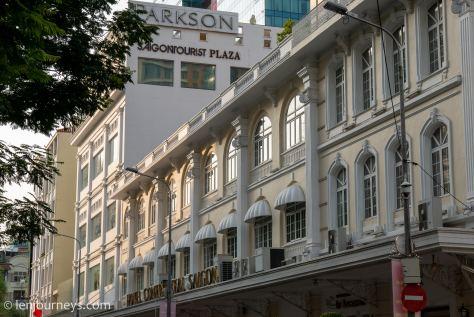 Hotel Continental on Dong Khoi Street, Saigon