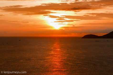 Sunrise on Nha Trang Bay