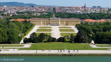 Garden of Schönbrunn Palace, Vienna