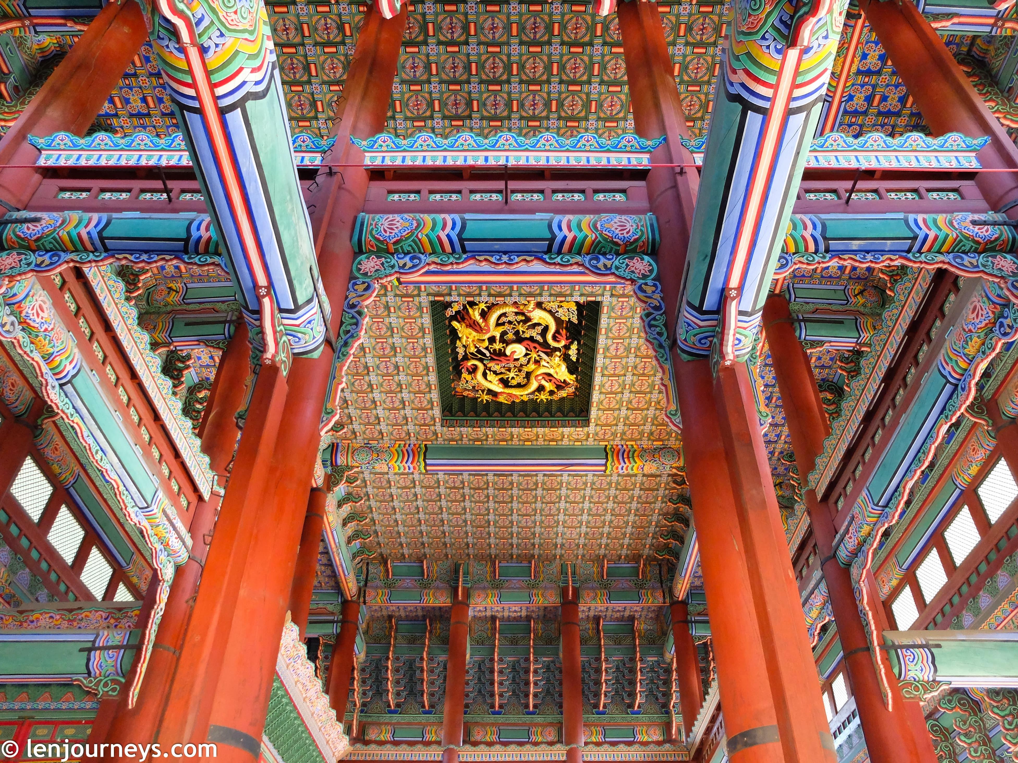 The throne room of Joseon Kings, Gyongbokgung