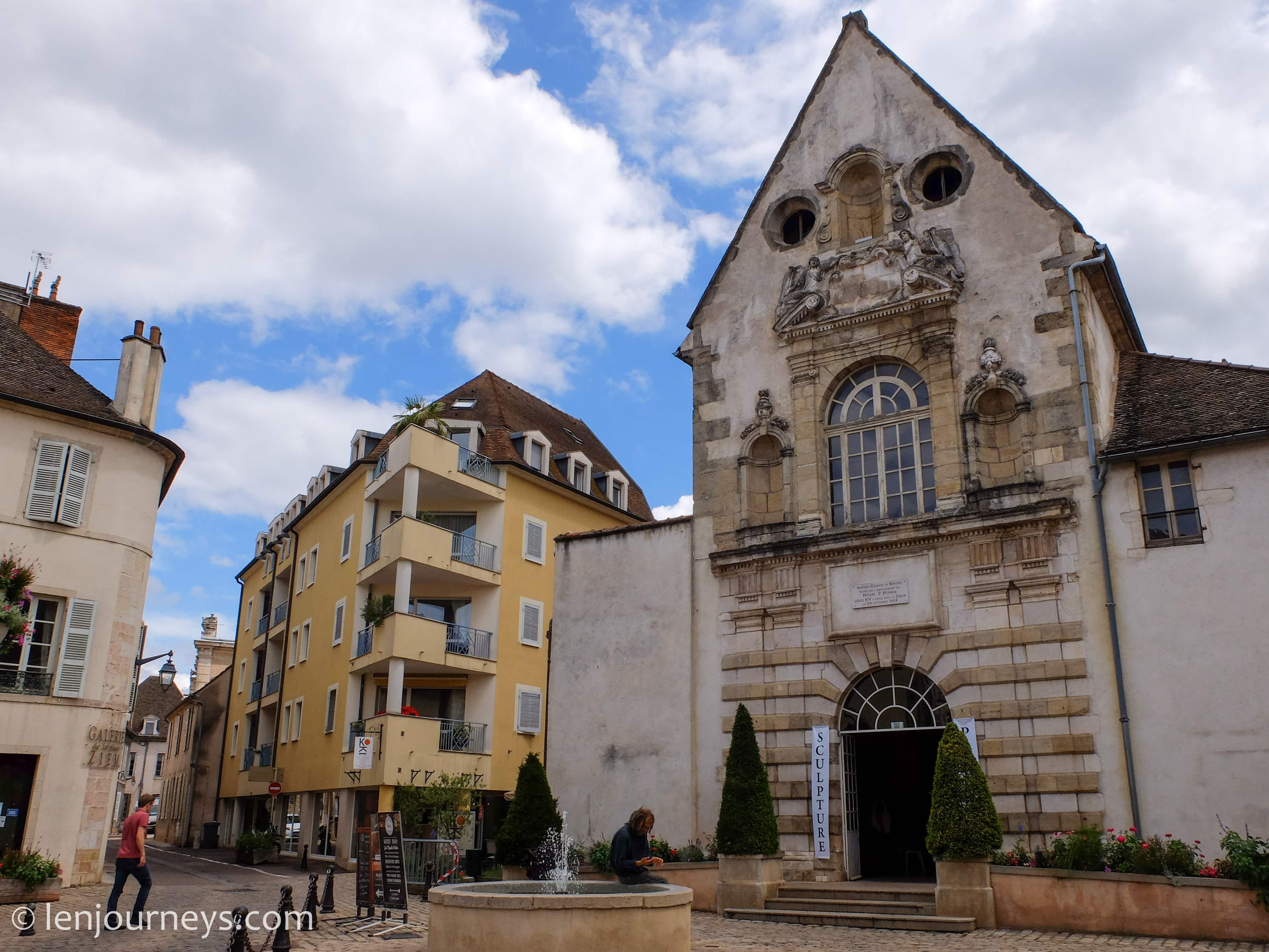 Beautiful building in Beaune, Burgundy