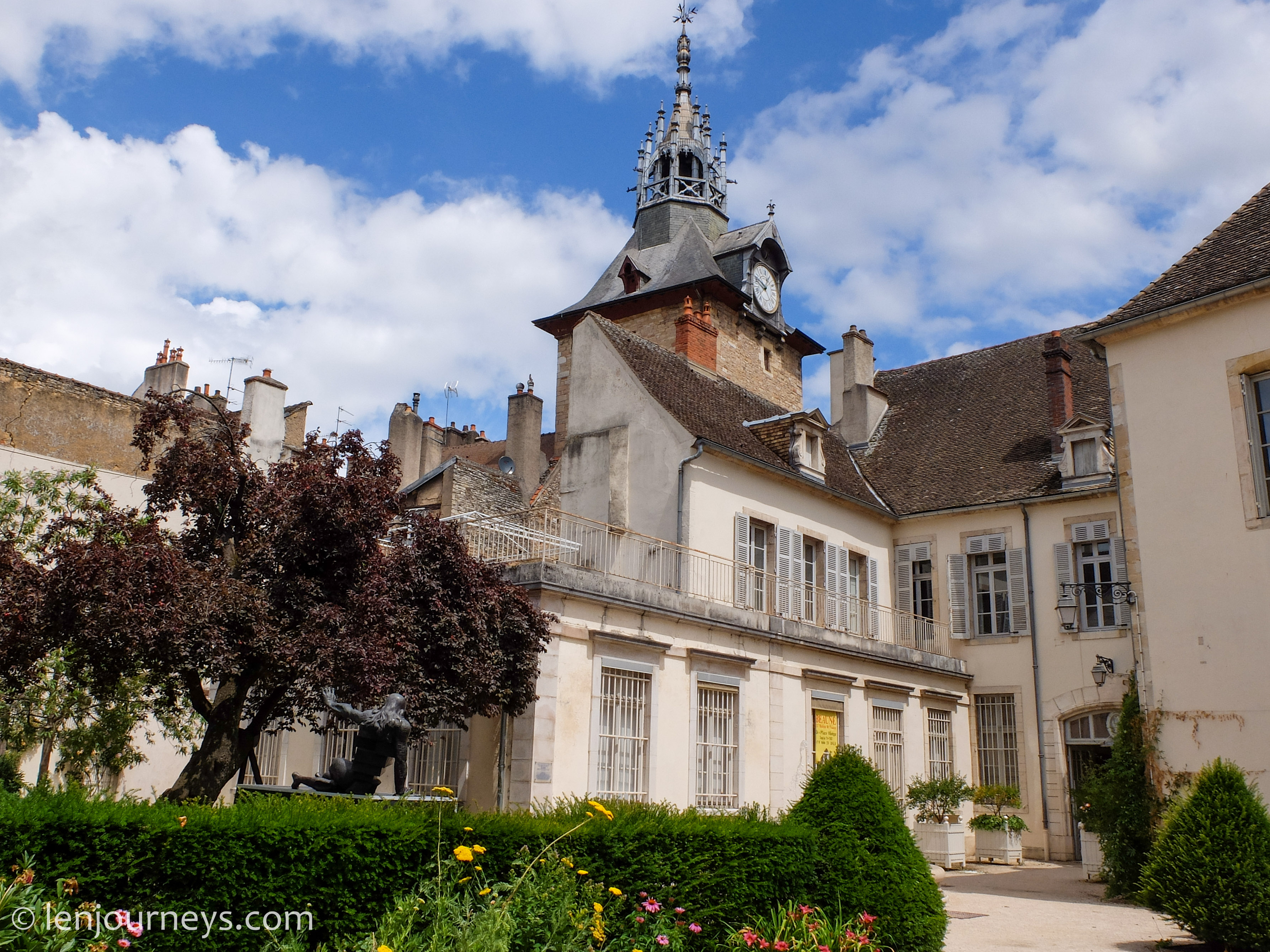 Historic building in Beaune