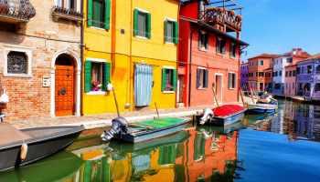 Italian colourful houses