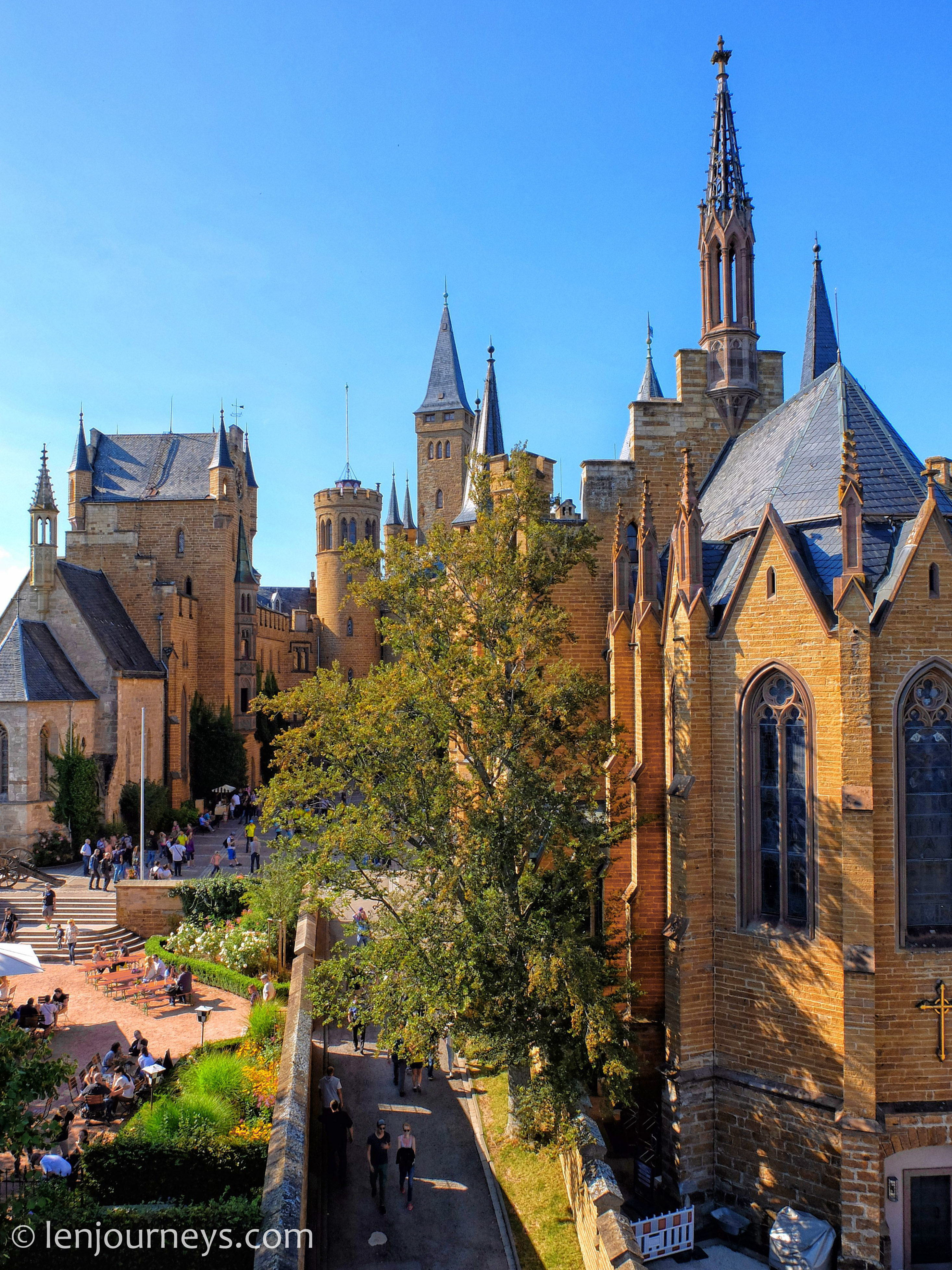 Courtyard of Hohenzoller Castle