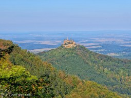 View of Hohenzollern Castle from Zeller Horn