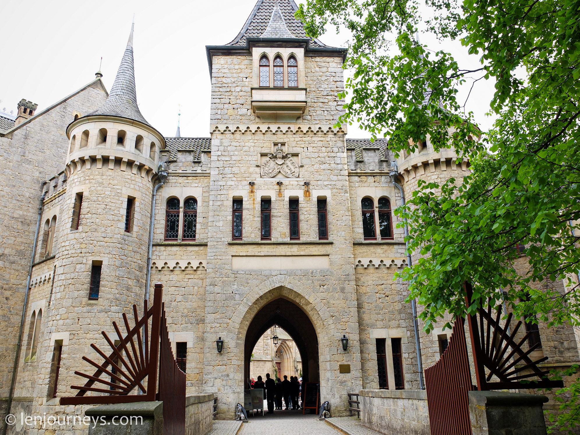Gate to Marienburg