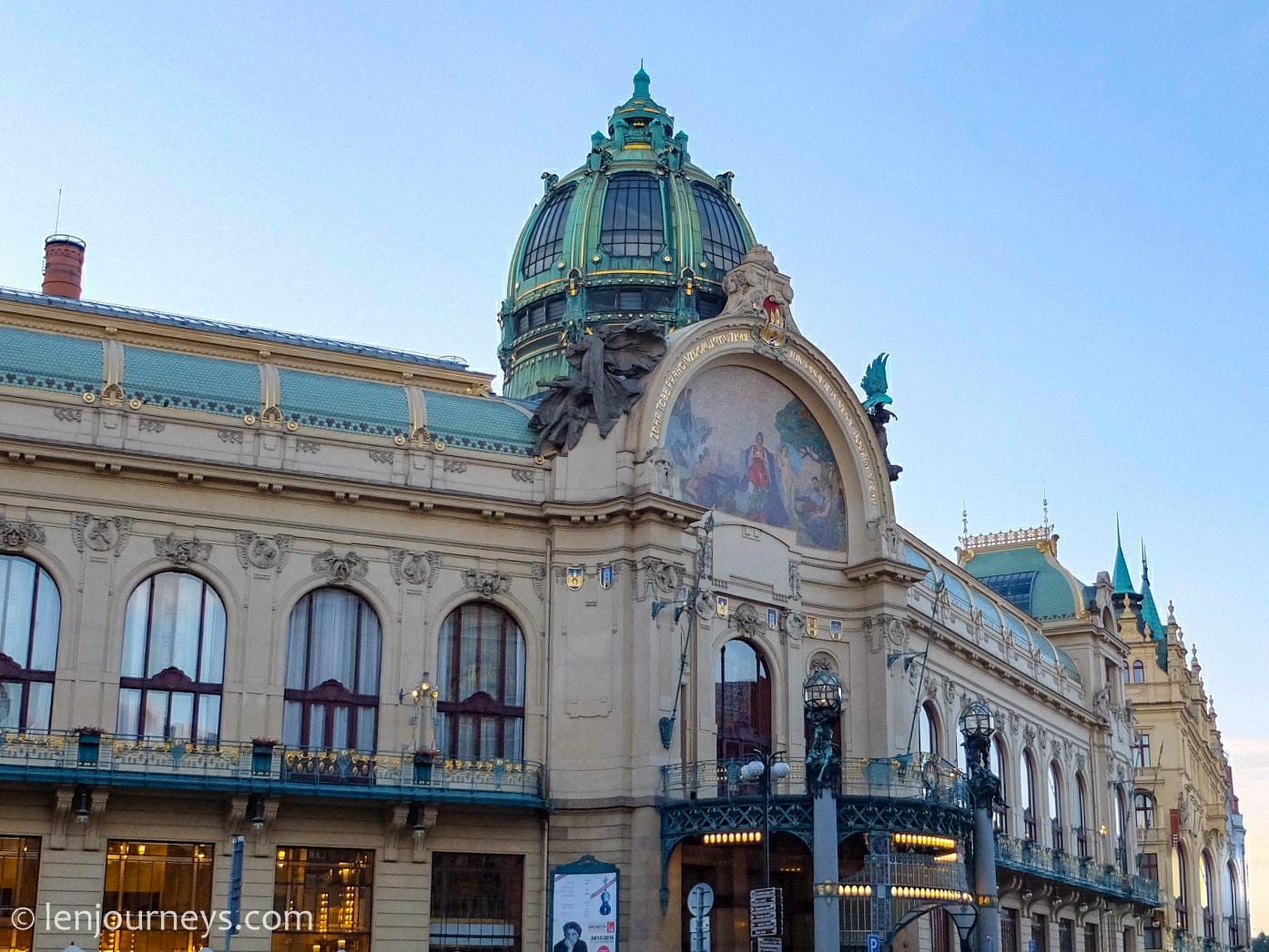 Historic building in Prague