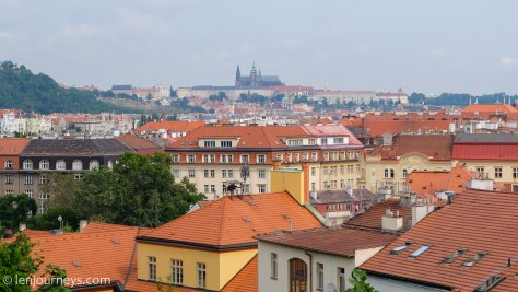 View from Vysehrad Fortress