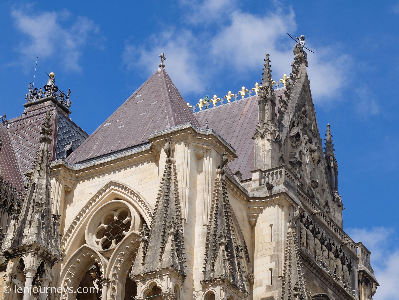 Architecture of Notre Dame de Reims