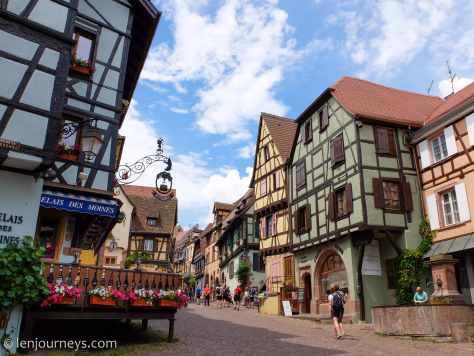 Houses in Riquewihr