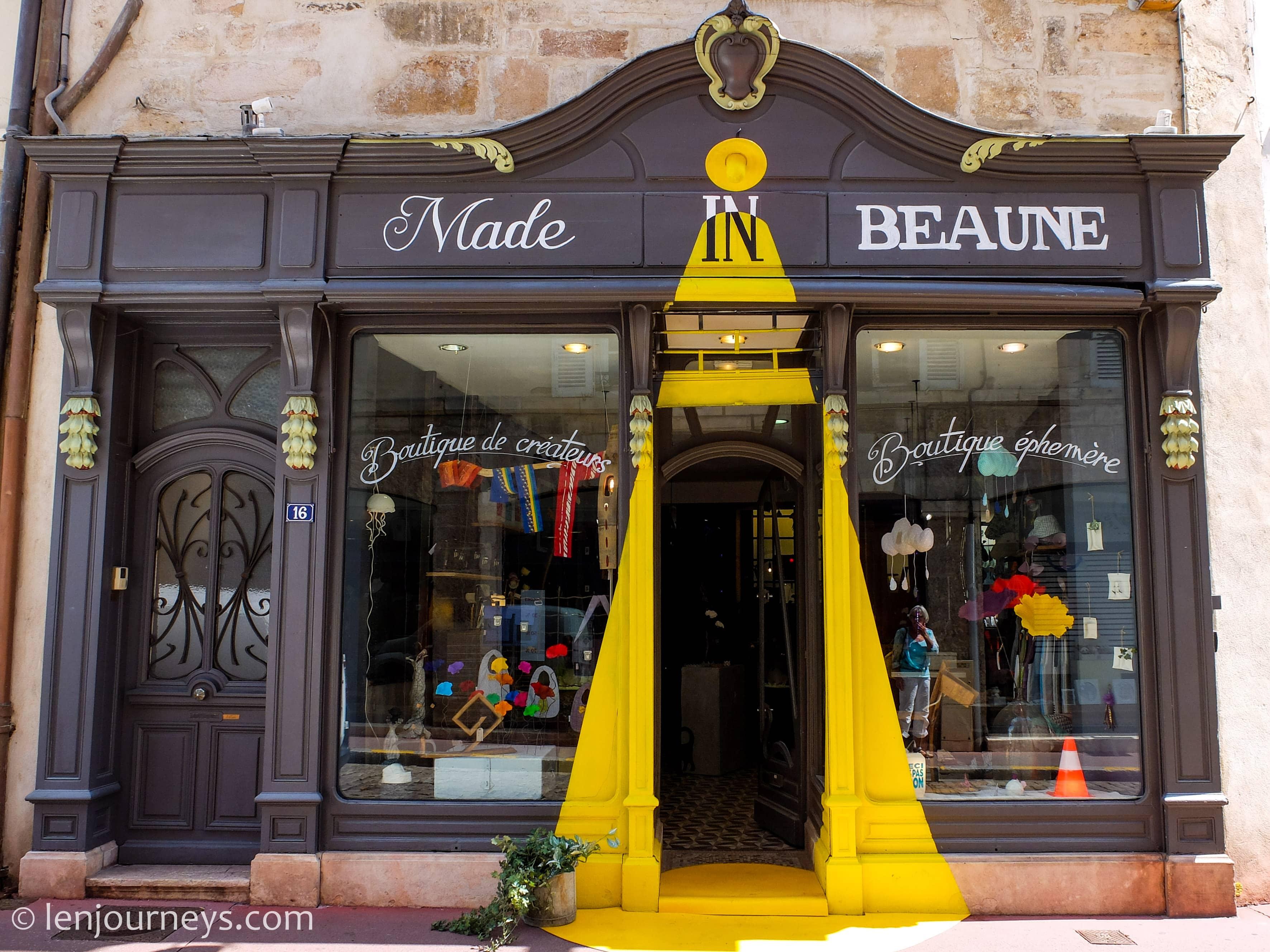Shop in Beaune, Burgundy