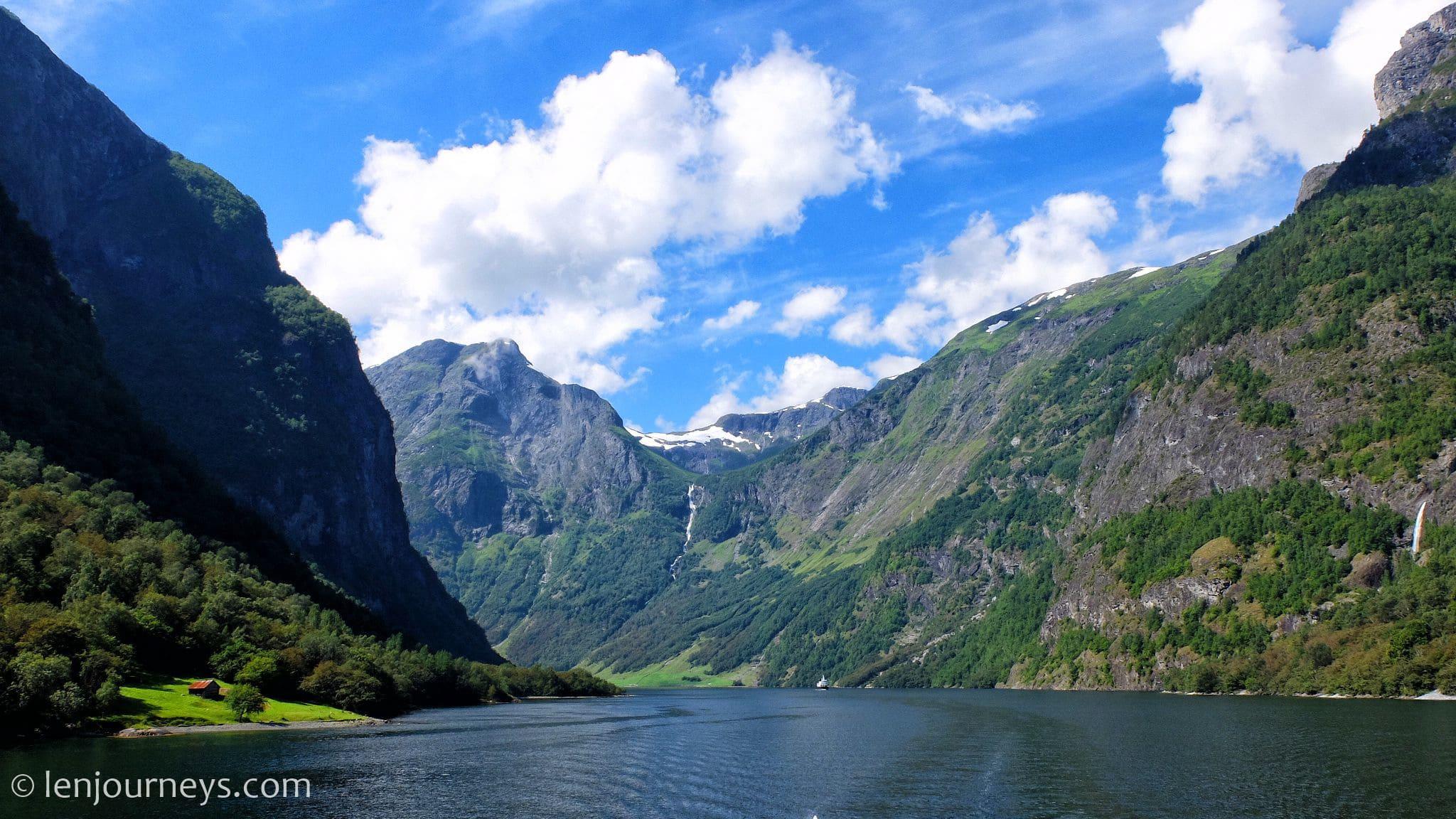 Nærøyfjord landscape