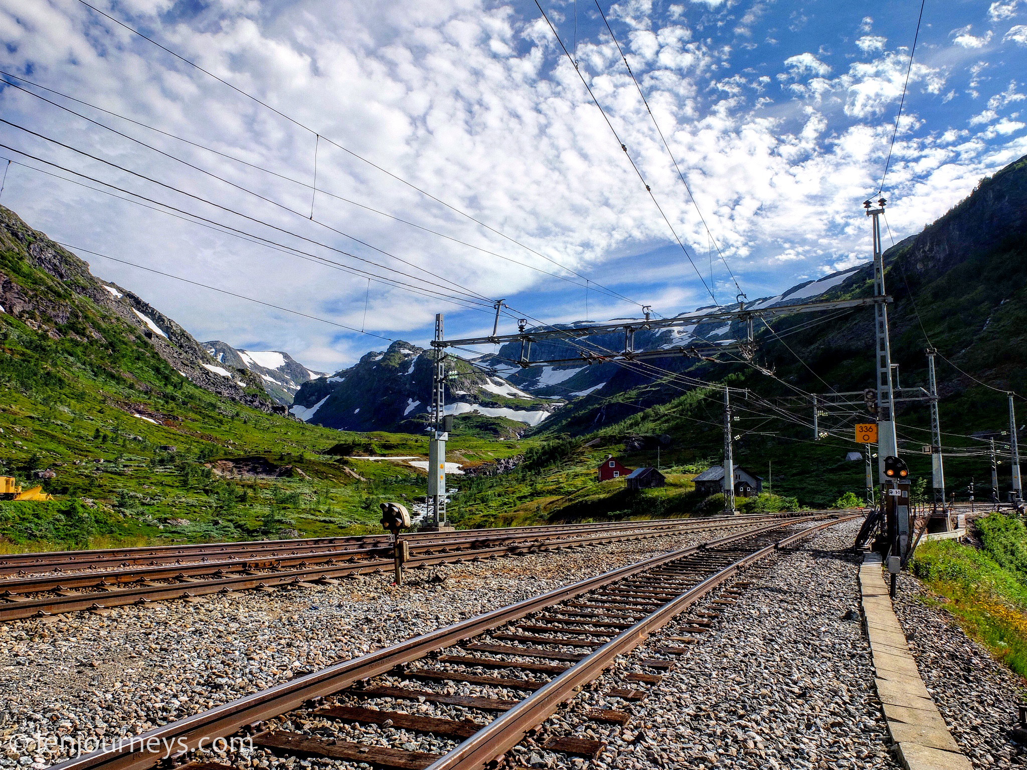 Myrdal - A major station on the Oslo-Bergen route