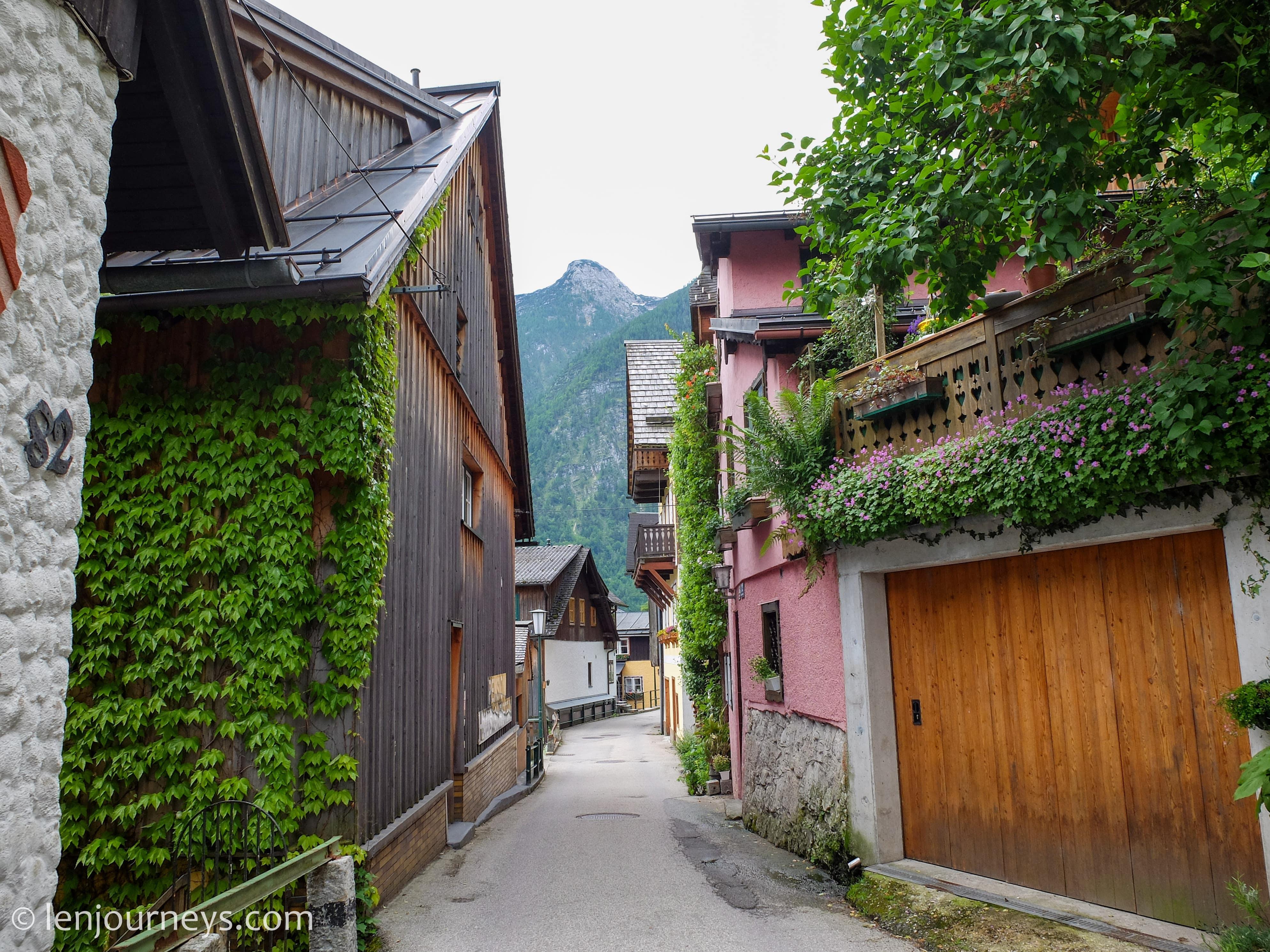 Alley in Hallstatt