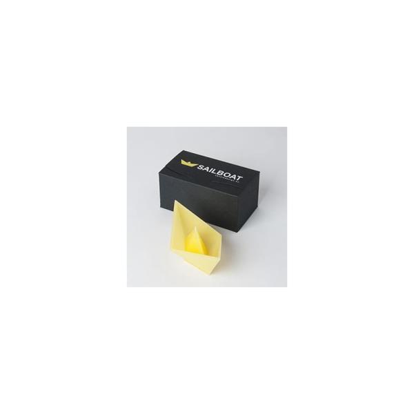 plovoucí svíčka Sailboat žlutá