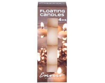 Emocio Plovoucí svíčky 4ks v krabičce